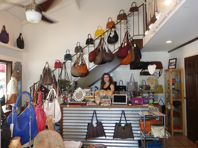 Leather Bags from Italy in all colors shapes and sizes at Gramercy boutique on Tujunga in Studio City