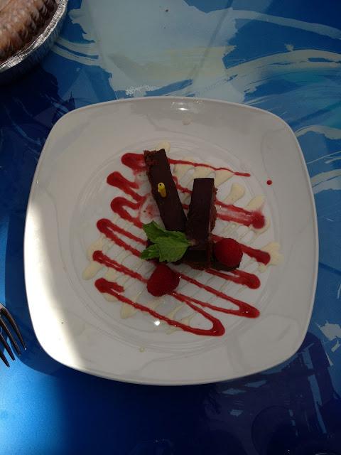 Chocolate Hazelnut Crunch Bars Dessert Geoffrey's Malibu
