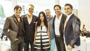 IN-EX Furniture store event hosted a party during the summer for upscale Italian furniture