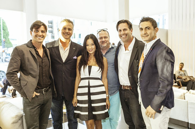 IN EX Furniture Store Event Hosted A Party During The Summer For Upscale  Italian Furniture
