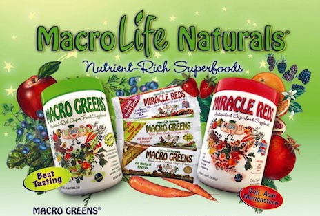 Macro Life Naturals for a healthy diet, energy and feeling great all day.