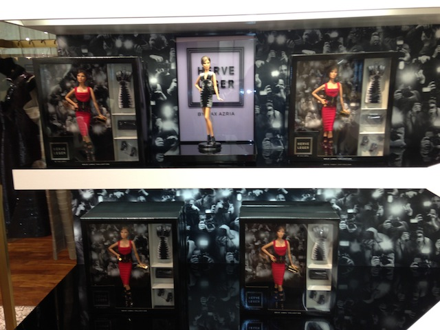 Herve Leger by Max Azria Limited Edition Barbie Doll at the Melrose Boutique