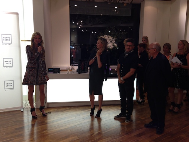 Max Azria and Lubov Azria talk about the Barbie collaboration with Herve Leger and Mattel.