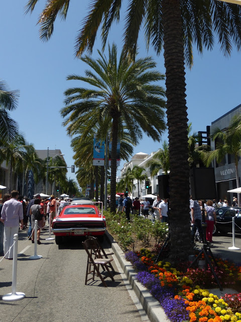 Fancy Car Show Rodeo Drive Fathers Day Event Concours d'Elegance