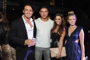 VR Cast Peter Madrigal Jax Taylor Scheana Marie Ariana Madix at the Star Magazine Scene Stealers event at Tropicana Bar.
