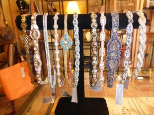 Deepa Gurnani Stylish hair bands at the Verona store in Studio City