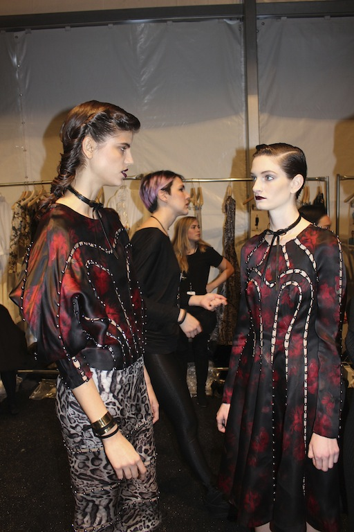 New York Fashion Week Backstage with Australian line Zimmermann