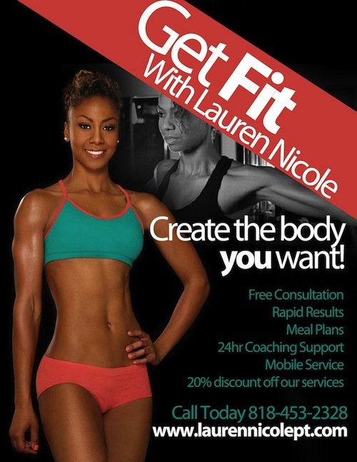 Lauren Nicole Personal Trainer in Los Angeles Helping you get the body you need now