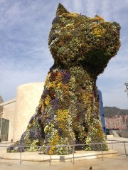 Jeff Koon's Puppy Photography Bilbao Spain