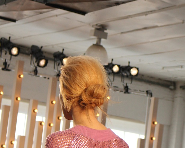Los Angeles Hair Trends from the Runway of Jenny Packham during New York Fashion Week
