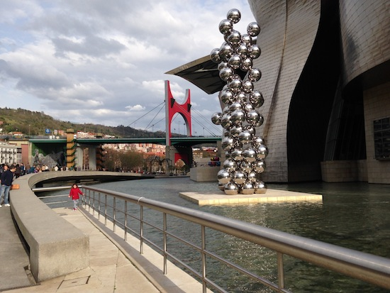 One of Bilbao Spain's gems is the Guggenheim Architecture by Frank Ghery