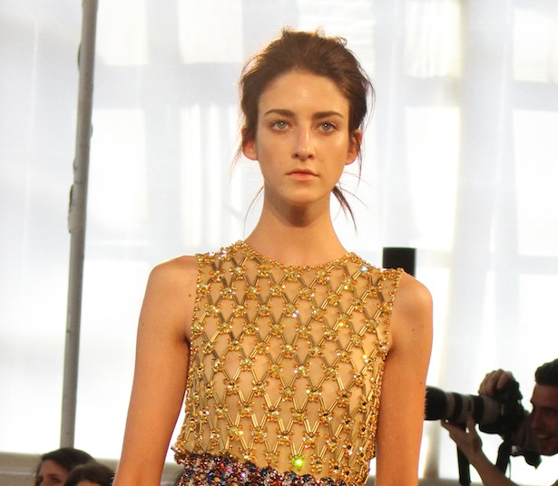 Runway of Jenny Packham NYFW Fashion Hair Trends