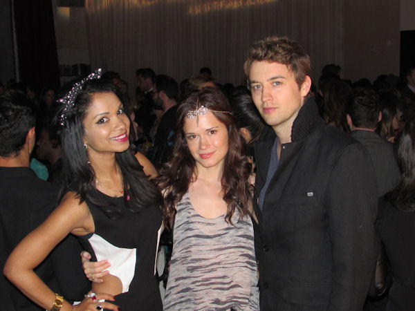 Marisa Lauren Christie Burson and Johnny Pacar at the Star Magazine Party in LA