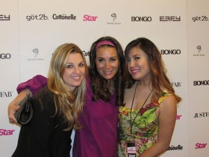 Fun on the Red Carpet of Star Magazine's Hollywood Rocks Party