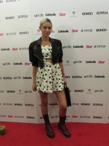 Caroline D'Amore at the Star Magazine Hollywood Rocks Party