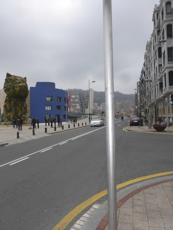 Street View of Bilbao Spain The Guggenheim Museum