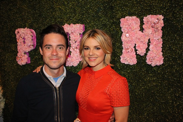 Ali Fedotowsky and Boyfriend Kevin Mano at Opening of New Lounge Pump in West Hollywood