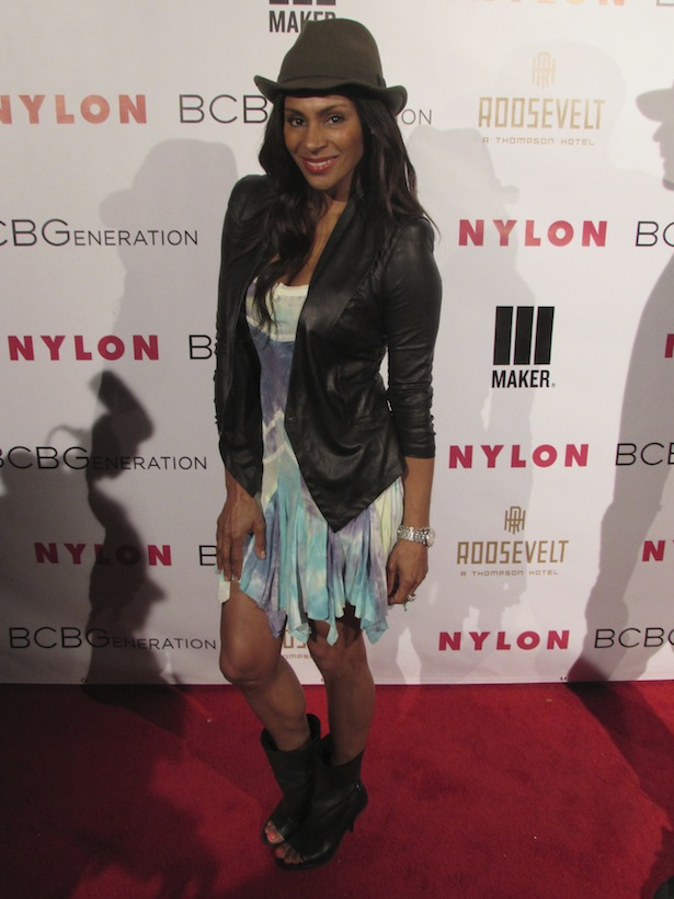 Chenoa Maxwell on the Red Carpet Young Hollywood Nylon BCBG Generation Party in Los Angeles