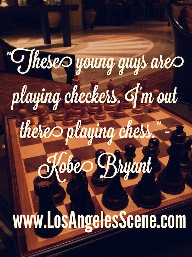 Daily Quote of the Day from Kobe Bryant on Los Angeles Scene