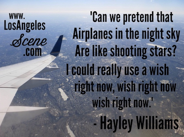 Daily Quote of the day from Hayley Williams on Los Angeles Scene