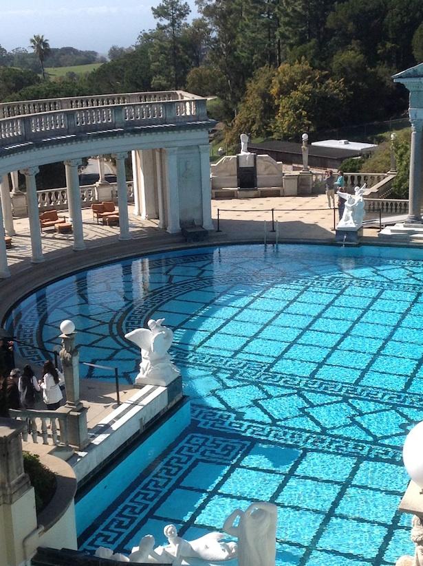Travel photography hearst castle a california tourist hot - Hearst castle neptune pool swim auction ...