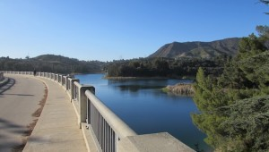 Hollywood Reservoir - Lake Hollywood Entrance