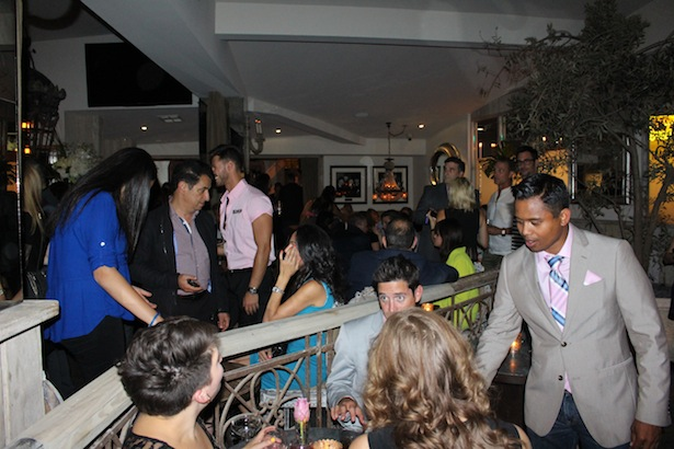 Inside Grand Opening of Pump Lounge and Restaurant West Hollywood