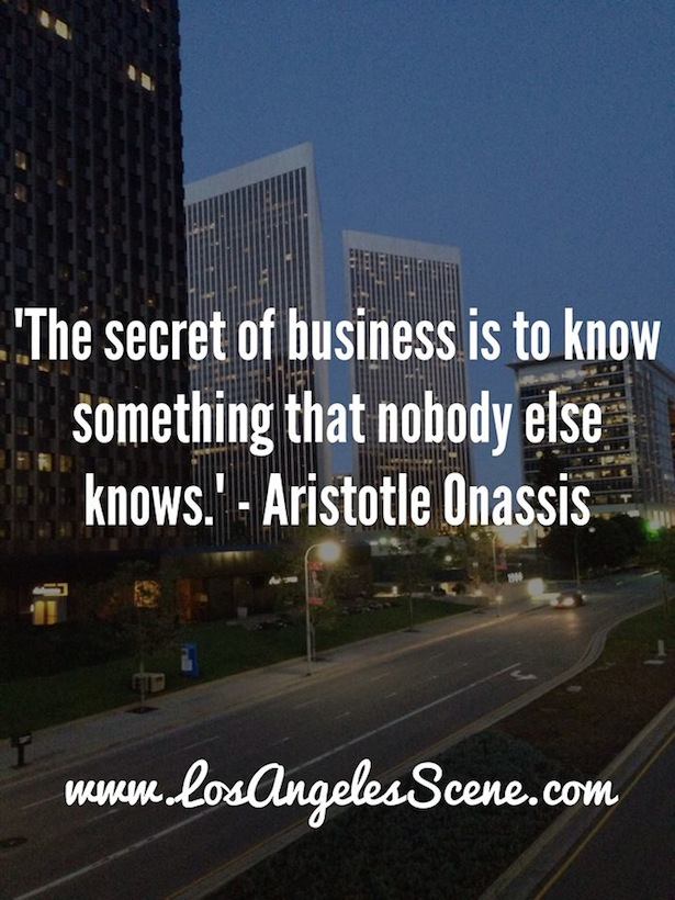 Inspirational Quote Aristotle Onassis