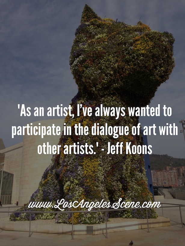 Inspirational Quote Jeff Koons