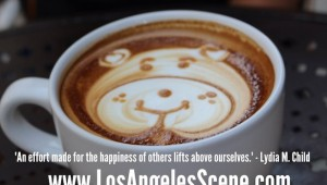 Inspirational Quote on the Los Angeles Scene - Lydia M. Child