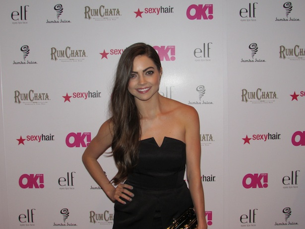"OK! Magazine's So Sexy Party Actress Caitlin Carver of ""The Fosters"""