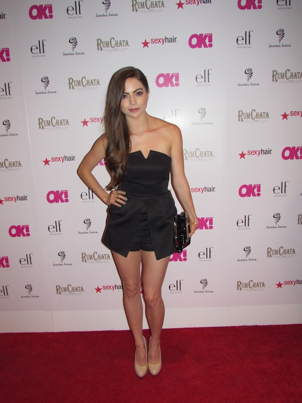 "OK! Magazine's So Sexy Party Caitlin Carver of ""The Fosters"""