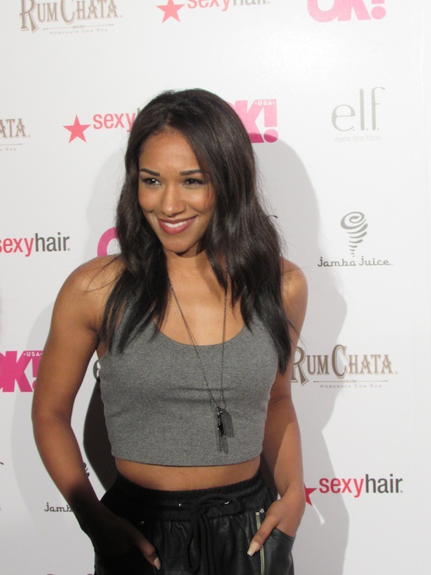 "OK! Magazine's So Sexy Party Candice Patton of CW's ""The Flash"""