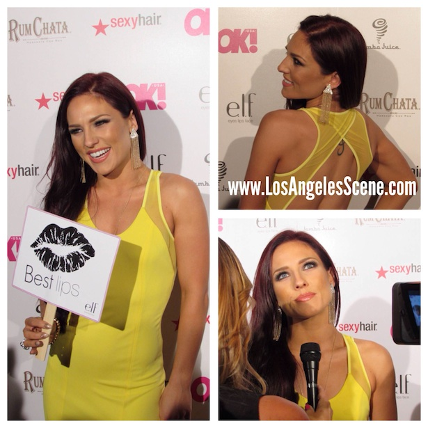 "OK! Magazine's So Sexy Party Sharna Burgess of ""Dancing With The Stars"""