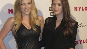Red Carpet Nylon Magazine BCBG Party at Tropicana Bar in Hollywood Roosevelt Hotel