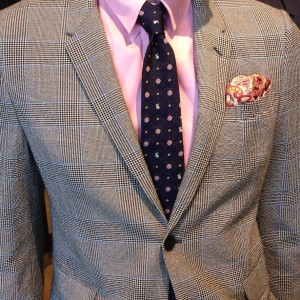 A pink shirt with a grey suit: Pick the Right Suit to Fit Your Career