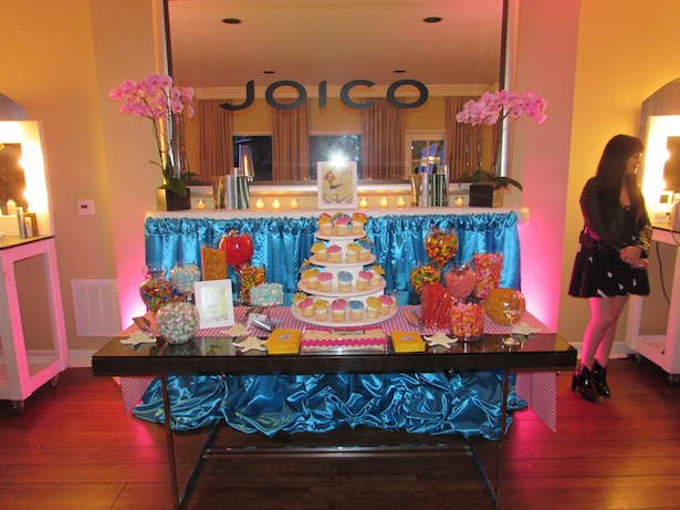 Sweet tooth anyone Joico candy love fab hair trends event in Los Angeles