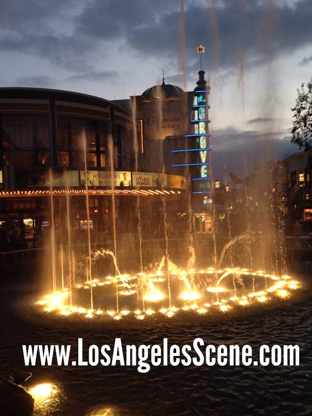 The Grove: The Fountain Dance!