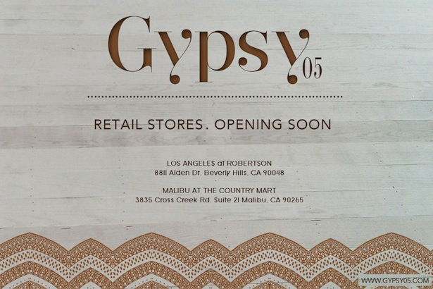 Gypsey05 Store Opening Beverly Hills and Malibu