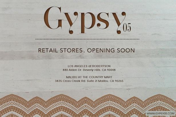 Gypsey05 Store Opening Beverly Hills and Malibu