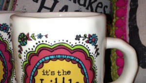 its the little things that matter mug
