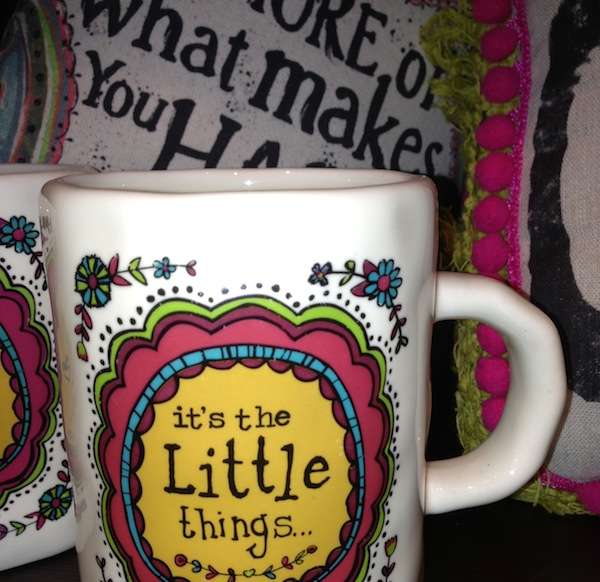 It's the Little Things in Life That Matter Mug