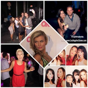 OK! Magazine's - So Sexy Party #AlwaysTrending with Model / Actress Joanna Krupa, Actor Adam Senn, Actress Logan Browning, Actor John Gammon, Actress Caitlin Carver, Brittany Gilman President of BG Sports Enterprises Inc., and Boxing Reporter, Michelle Joy Phelps -CEO of BehindTheGloves.com