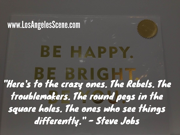 Inspirational Quote steve jobs - crazy ones