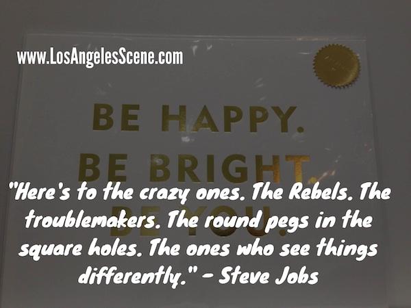 Inspirational Quote steve jobs - crazy ones