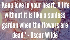 Inspirational quote of the day by Oscar Wilde on Los Angeles Scene