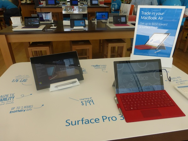 Microsoft New Surface Pro 3 tablet