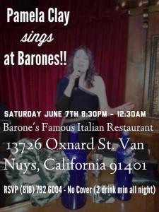 Pamela Clay Singer Los Angeles