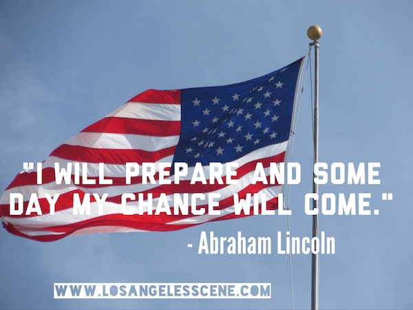 Abraham Lincoln Quotes on Los Angeles Scene picture 1