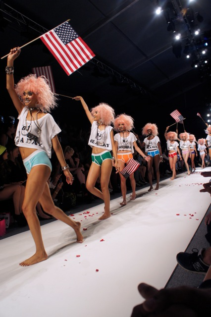 Betsey Johnson Spring Summer 2014 Runway Show